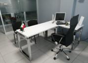 Oficinas listas para trabajar