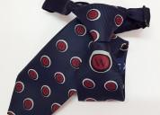 Corbata escolar para niño en tela jacquard