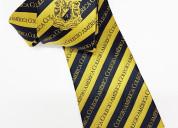 Corbata para caballero en tela jacquard
