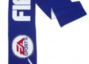 Bufanda tipo unisex con logotipos