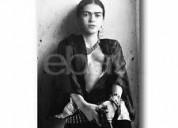 Vendo cuadros de frida kahlo... fotos bco. y negro