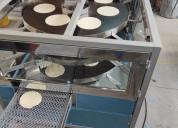 Máquina de comales redondos de tortillas artesanal