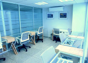 Renta de oficinas amuebladas