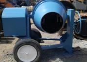 Revolvedora para concretocon motor y tirÓn