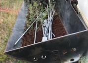 Bote de excavadora para dragar canales