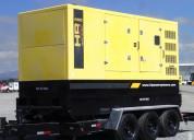 Generador sobre remolque de 3 ejes