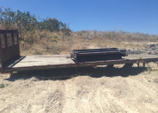 Plataforma para camiÓn de 7 metros