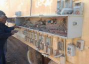 Caja seca de controles para tren de trituraciÓn
