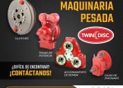 Refacciones twin disc para grúas y maquinaria