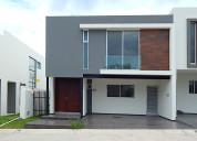 Casa nueva en los robles residencial, zap. 220 mts
