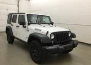 Jeep wrangler blanco unlimited 2014