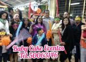 Animadoras para baby shower xochimilco