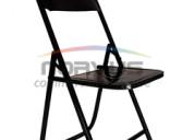 Venta de sillas de lamina plegables