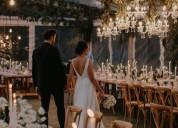 Terrazas y espacios para fiestas y eventos, bodas