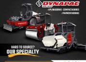 Refacciones para maquinaria dynapac