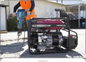 Generador honda 5.5 hp