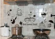 Decoración en vinil cocinas, baños, vidrios, venta