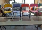 Venta de sillas plegables infantiles.