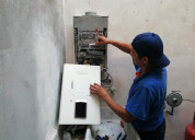 Técnico en reparación de calentadores de paso