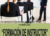 Curso de formaciÓn de instructor (capacitador)