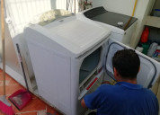 Mantenimiento de secadoras de ropa. diagnóstico