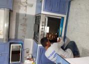 Técnico en reparación de estufas y hornos