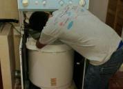 Técnico en centro de lavado y lavadoras