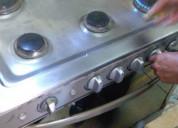 Mantenimiento de estufas, freidoras y hornos