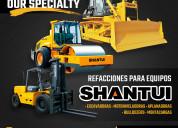 Refacciones para maquinaria shantui