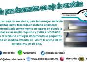 Charola pasa documentos