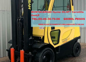 Montacargas hyster h2.5ft