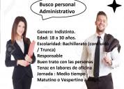 Busco auxiliar administrativo