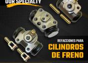 Refacciones para cilindros de frenos