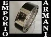 reloj original emporio armani ar 5473 dama de piel