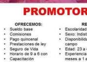 Promotores de ventas, consultar