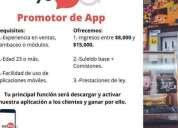Promotor ventas digital, contactarse.