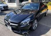 Mercedes benz automático piel toldo duro eléctrico