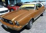 Mustang 50 aniversario 1975, buena oportunidad.