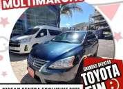 Nissan sentra 2016 4p exclusive