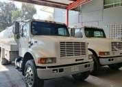 Camiones dina e international pipa