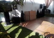 Servicio profesional de dj, audio y karaoke en que