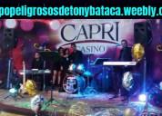 Puebla grupo musical versatil peligrosos de tony b