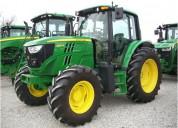 John deere tractor agricola 6125