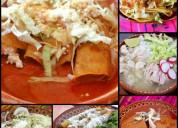 RiquÍsimo buffet de antojitos mexicanos