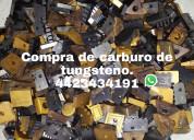 COMPRA SCRAP DE CARBURO DE TUNGSTENO