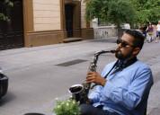 Saxofonista y tecladista para eventos