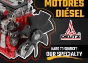 Refacciones para motores diÉsel deutz