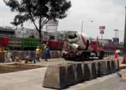 concreto premezclado, concreto, bombeo de concreto