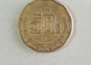 Moneda de 50 ¢. año 1895