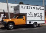 Mudanzas de toluca metepec fletes economicos